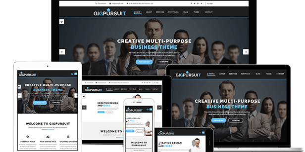 corporate business website