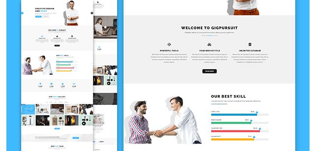 corporate business website 3