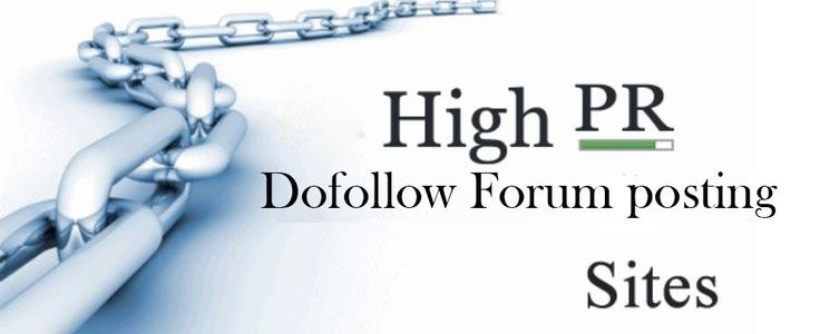 dofollow forum posting site list 2018