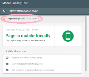 how to improve google ranking - google mobile friendly test free