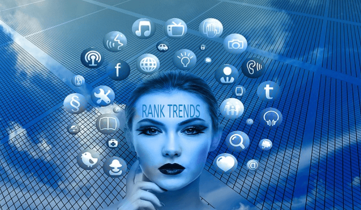 Social Media Marketing - Rank Trends