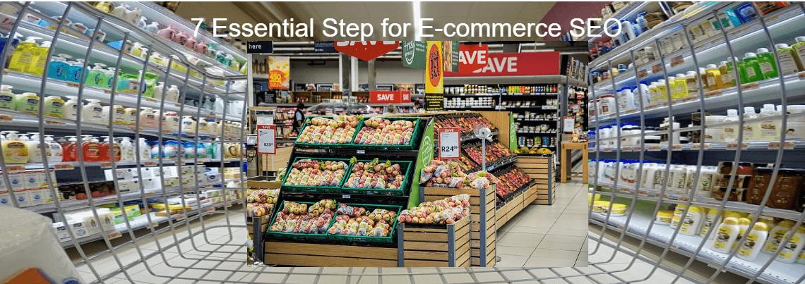 7 essential step to seo for e-commerce website