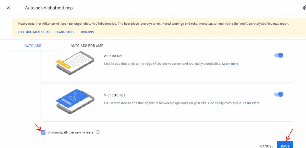 google adsense setup