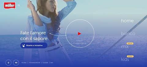 video background website design trends