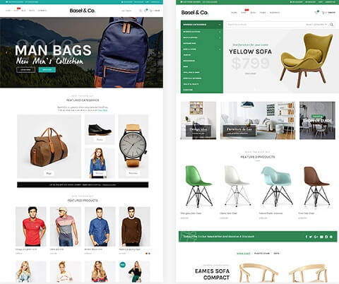 basel best ecommerce wordpress themes