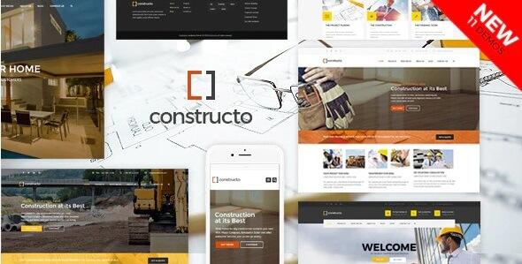 constructo construction wordpress theme
