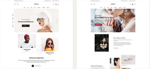 Jayla wordpress ecommerce theme