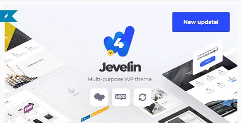 jevelin multipurpose wordpress theme
