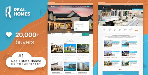 RealHomes Estate Sale and Rental WordPress Theme