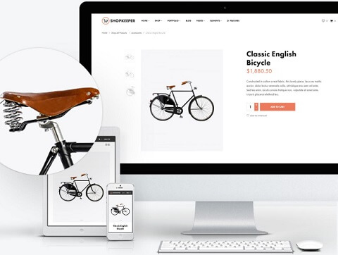shopkeeper ecommerce theme